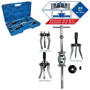 5-pcs 3 Jaw internal & external puller set, Brilliant Tools