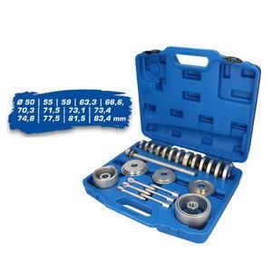 Wheel bearing removal kit 50-83,4mm, Brilliant Tools