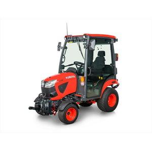 Kompaktiškas KUBOTA BX231 traktorius (su kabina)