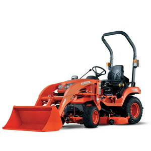 Tractor  BX2350 with front loader and mid mower, Kubota