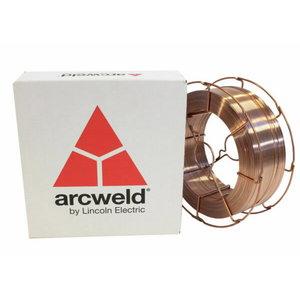 Сварочная проволока ArcWeld SG2/AS2 BS300 PLW 0,8mm 15kg, LINCOLN