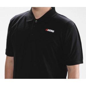 Polo marškinėliai  juodi XXL, ECHO