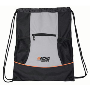 BACKPACK  black/gray, ropes, ECHO