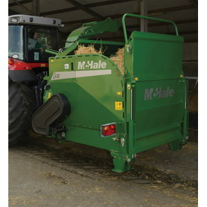 Straw blower and bale feeder  C430, Mchale
