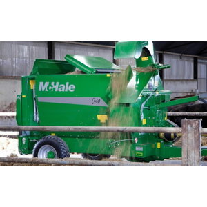 Straw Blower&Bale Feeder C460, Mchale