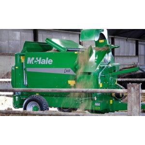 Rullipurustaja ja söödalaotaja McHale C460
