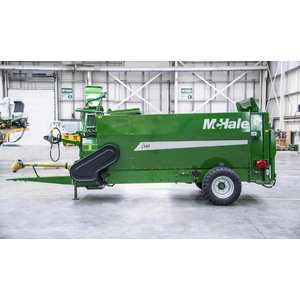 Silage feeder and straw blower McHale C490, Mchale