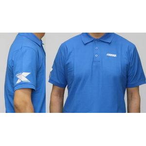 Poloshirt blue, ECHO