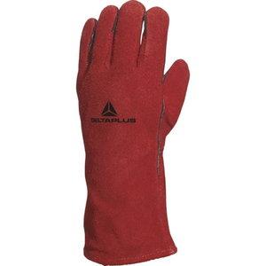 Welding gloves, Cow hide leather 10, Delta Plus
