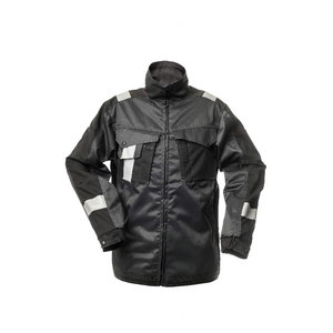 STOKKER darba jaka, tumši pelēka/melna 46