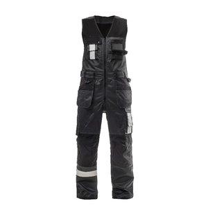 Kombinezonas su  kišenėmis-dėklais   t. pilka/juoda 58, Stokker