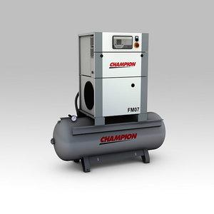 Skrūves kompresors 7,5kW FM7/270, Champion