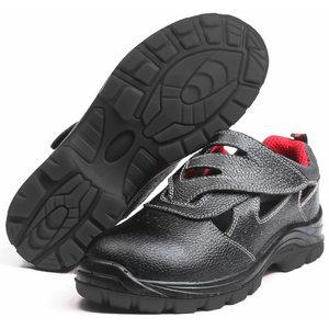 Darba sandales Chester S1P, melnas, Pesso