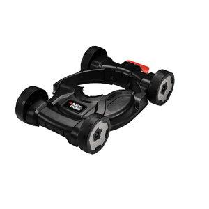Keturių ratų rėmas Strimmer® STC1820, ST5530, ST4525, GL5028, Black+Decker