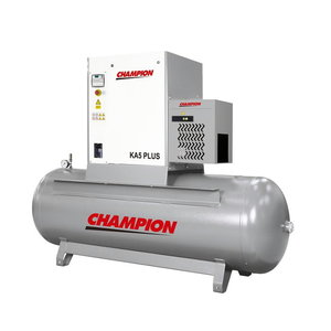 Screwcompressor 5,5kW KA5/CT/270 Premium, Champion