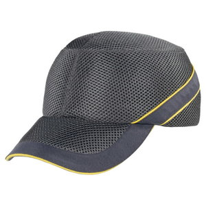Löögikindel müts Air Coltan helehall/tumehall, reguleeritav, Delta Plus