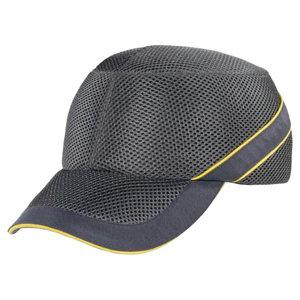 Cepure Air Coltan, gaisi pelēka/tumši pelēka, regulējama, Delta Plus