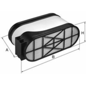 Air filter 11Q4-24210, 0.900.0272.0, F350 200 090