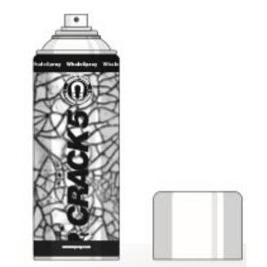 NDT Kontrast lakk WS Crack 5 mustale magnetainele 400ml, Whale Spray
