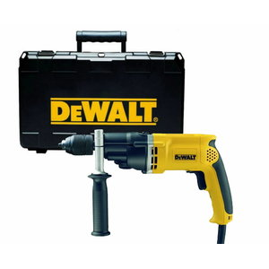 Impact drill D21805KS, keyless chuck, case, DeWalt