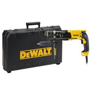 Hammer drill D25134K, SDS+, 800W + 13mm additional chuck, DeWalt