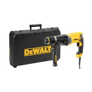 Hammer drill D25144K, SDS+, 900W + 13mm additional chuck, DeWalt