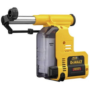 Dust extraction attachment D25303DH for cordless combihammer, DeWalt