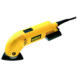 Triangle sander D26430, 93x93x93 mm, speed control, DeWalt