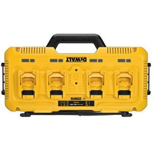 4 port charger for 12V - 18V DeWALT batteries, DeWalt