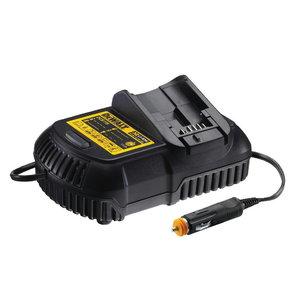 Car charger for 10,8V - 18V DeWALT batteries
