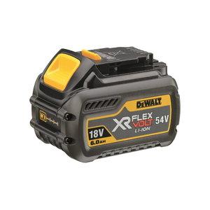 Battery XR Flexvolt 18V/6,0Ah / 54V/2,0Ah, DeWalt