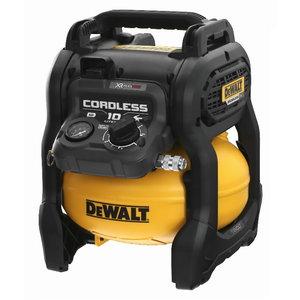 Cordless compressor DCC1054T2, 54V Flexvolt, 2 x 6.0Ah, DeWalt