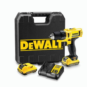 Cordless drill DCD710D2, 10,8V / 2,0Ah, DeWalt
