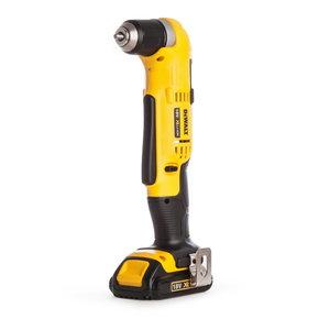 Cordless angle drill driver DCD740C1, 18V / 1,5Ah, DeWalt