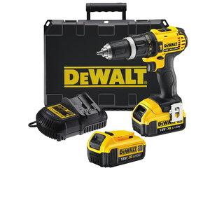 Cordless hammer drill DCD785M2, 18V / 4,0Ah, DeWalt