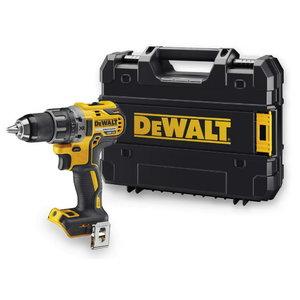 Cordless drill DCD791NT, brushless, carcass, TSTAK case