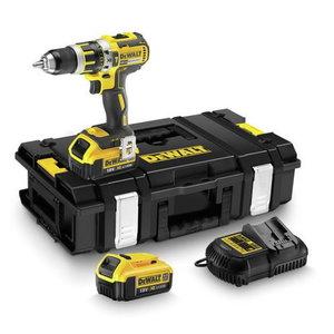 Cordless drill DCD795M2, brushless, 18V / 4,0Ah, DeWalt
