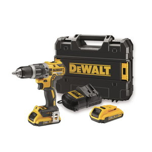 Cordless drill DCD796D2, brushless, 18V / 2,0Ah, DeWalt