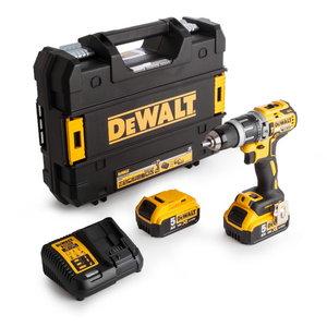 Cordless drill DCD796P2, brushless, 18V / 5,0Ah, DeWalt