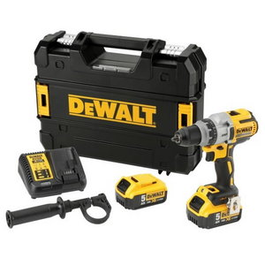 Cordless drill DCD991P2, brushless, 18V / 5,0Ah