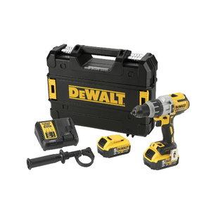 Cordless impact drill DCD996P2, brushless, 18V / 5,0Ah, DeWalt