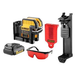 Cross line / spotlaser DCE0825LR, red lines, AA batteries, DeWalt