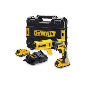 Drywall driver DCF620D2K, brushless, 18V / 2,0Ah, DeWalt