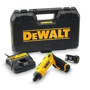 Cordless screwdriver GYRO DCF680G2 / 7,2V / 1,0 Ah, DeWalt