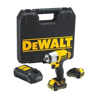 Cordless impact wrench 3/8`` DCF813D2, 10,8V / 2,0Ah, DeWalt