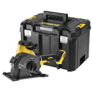 Cordless wall chaser DCG200NT with 2 diamond discs FVcarcass, DeWalt
