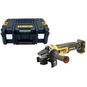 Cordless angle grinder DCG405NT, brushless,carcass in TSTAK