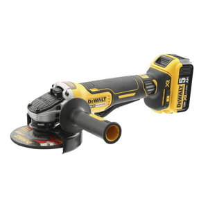 Cordless angle grinder DCG406N, 125mm, carcass in carton, DeWalt