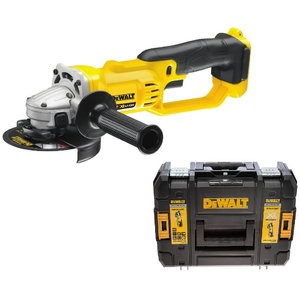 Cordless angle grinder DCG412NTcarcass in TSTAK