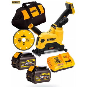 Concrete Cutting Kit DCG4610T2 125mm, 54V, DeWalt